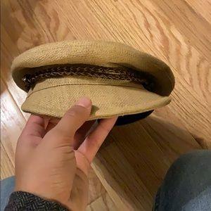 NWT straw hat!